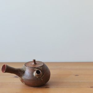 Yokode Kyusu M 04 gaucher - Margaux Ceramics